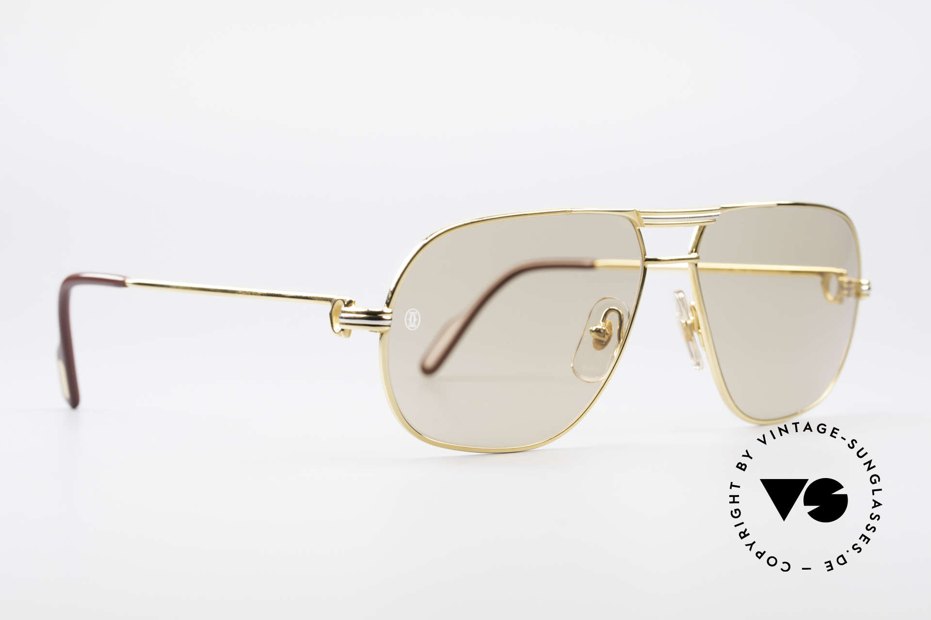 Cartier Tank - M Luxury Designer Sunglasses, Tank: model of the old 'rimmed series' by CARTIER Paris, Made for Men
