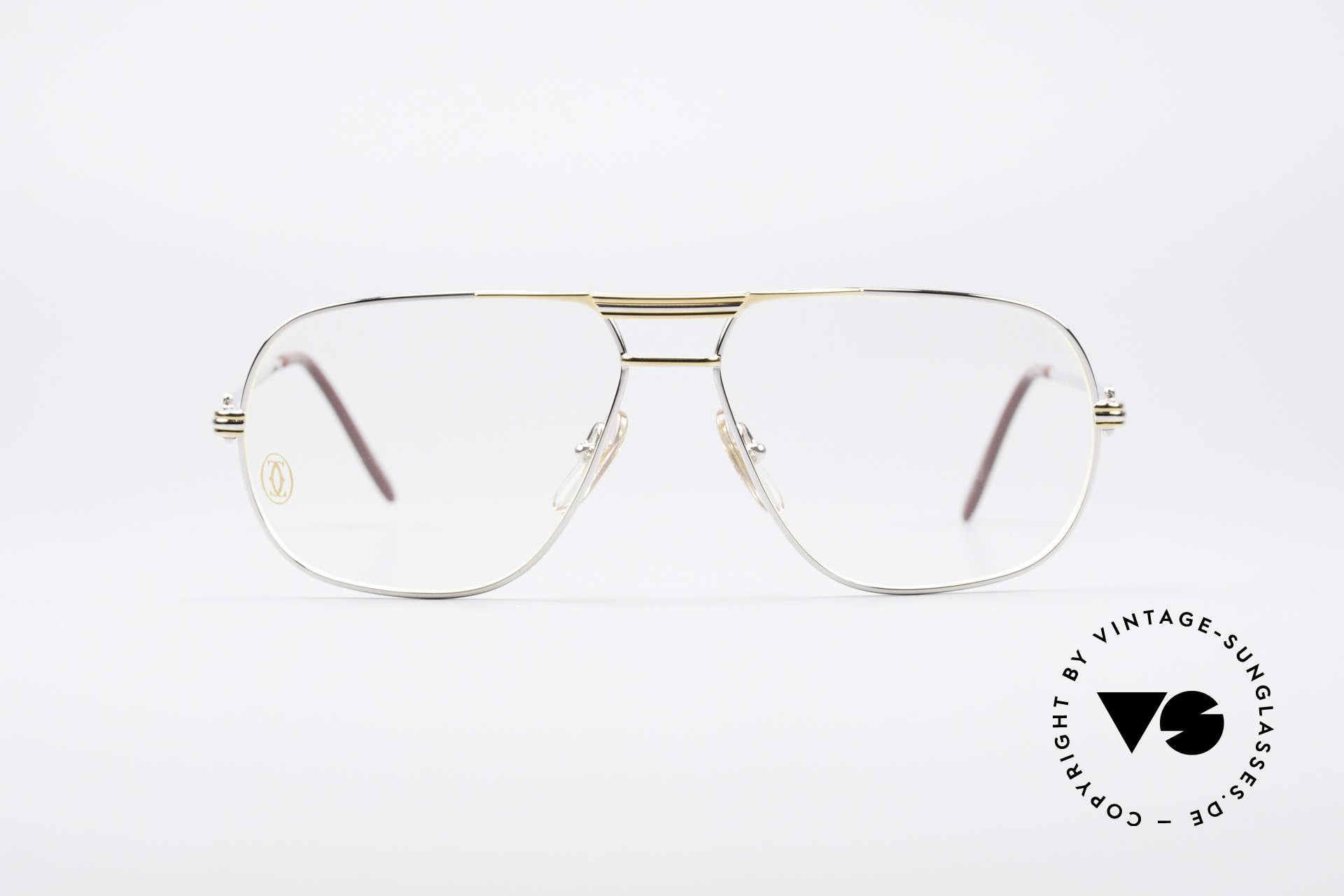 7a7330349a7 Glasses Cartier Tank - M Rare Platinum Finish