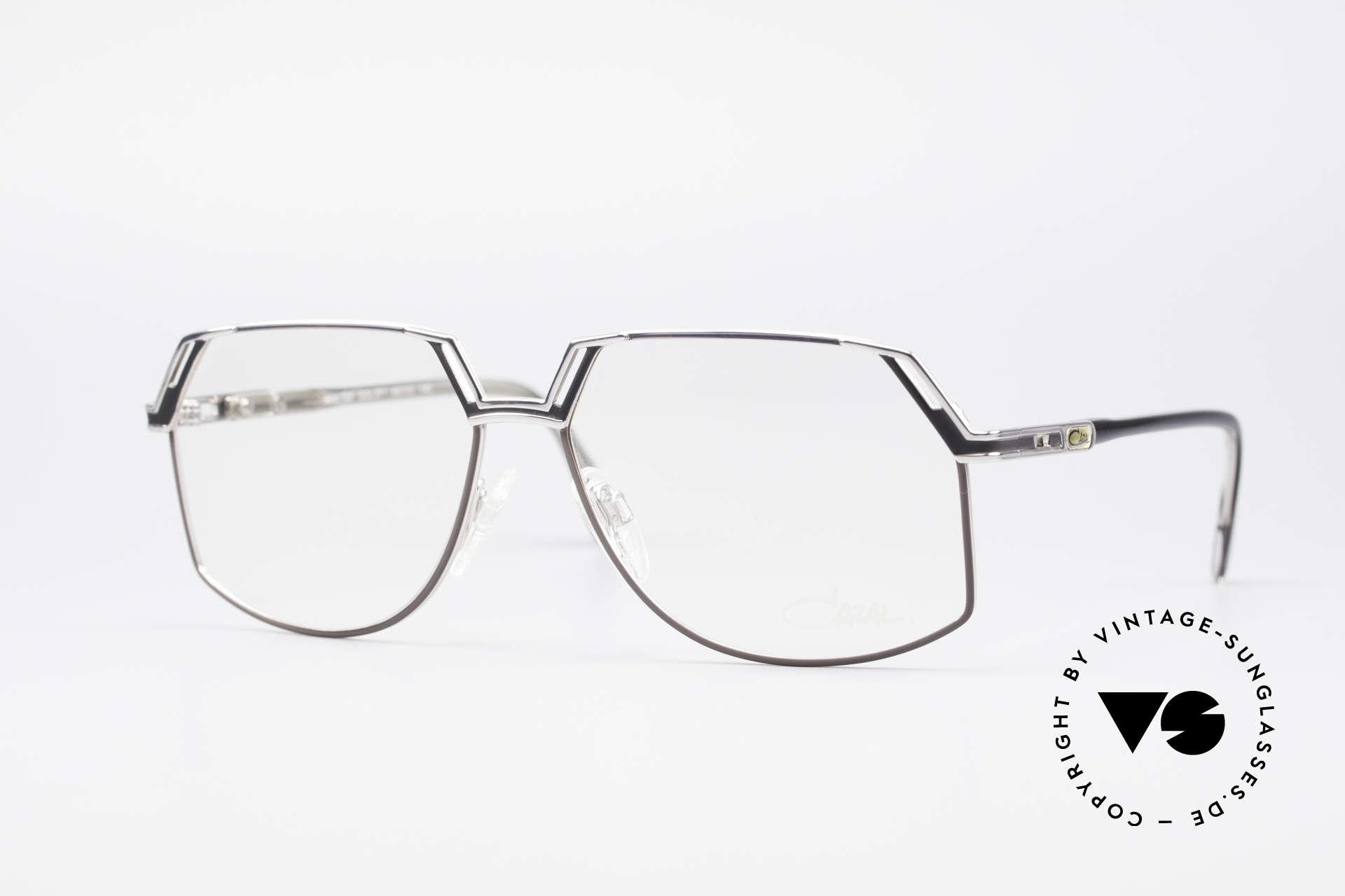 Cazal 738 True Vintage Eyeglasses, distinctive CAZAL men's eyeglasses of the 1980's/1990s, Made for Men