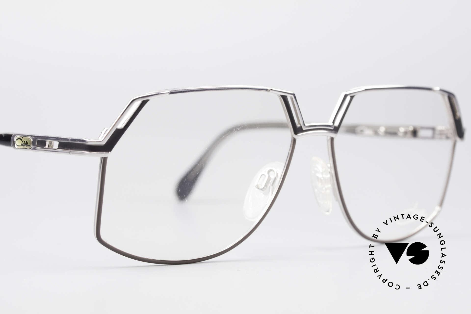 Cazal 738 True Vintage Eyeglasses, the frame is made for lenses of any kind (optical / sun), Made for Men