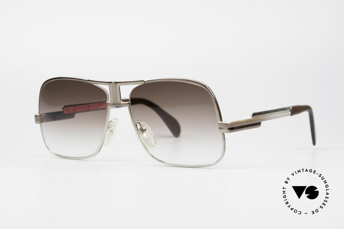Cazal 701 Ultra Rare 70's Sunglasses, unusual and well balanced frame finish, size 58/18, Made for Men