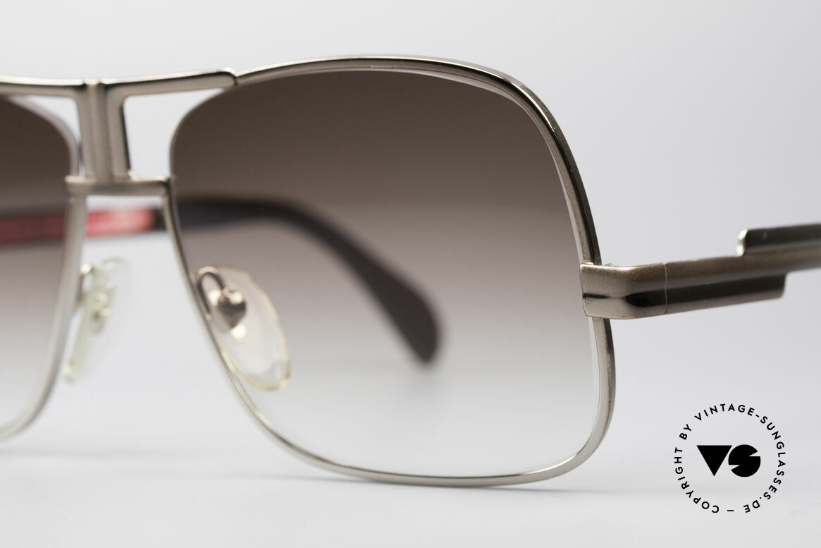 Cazal 701 Ultra Rare 70's Sunglasses, seamless change from brown to silver; simply unique, Made for Men