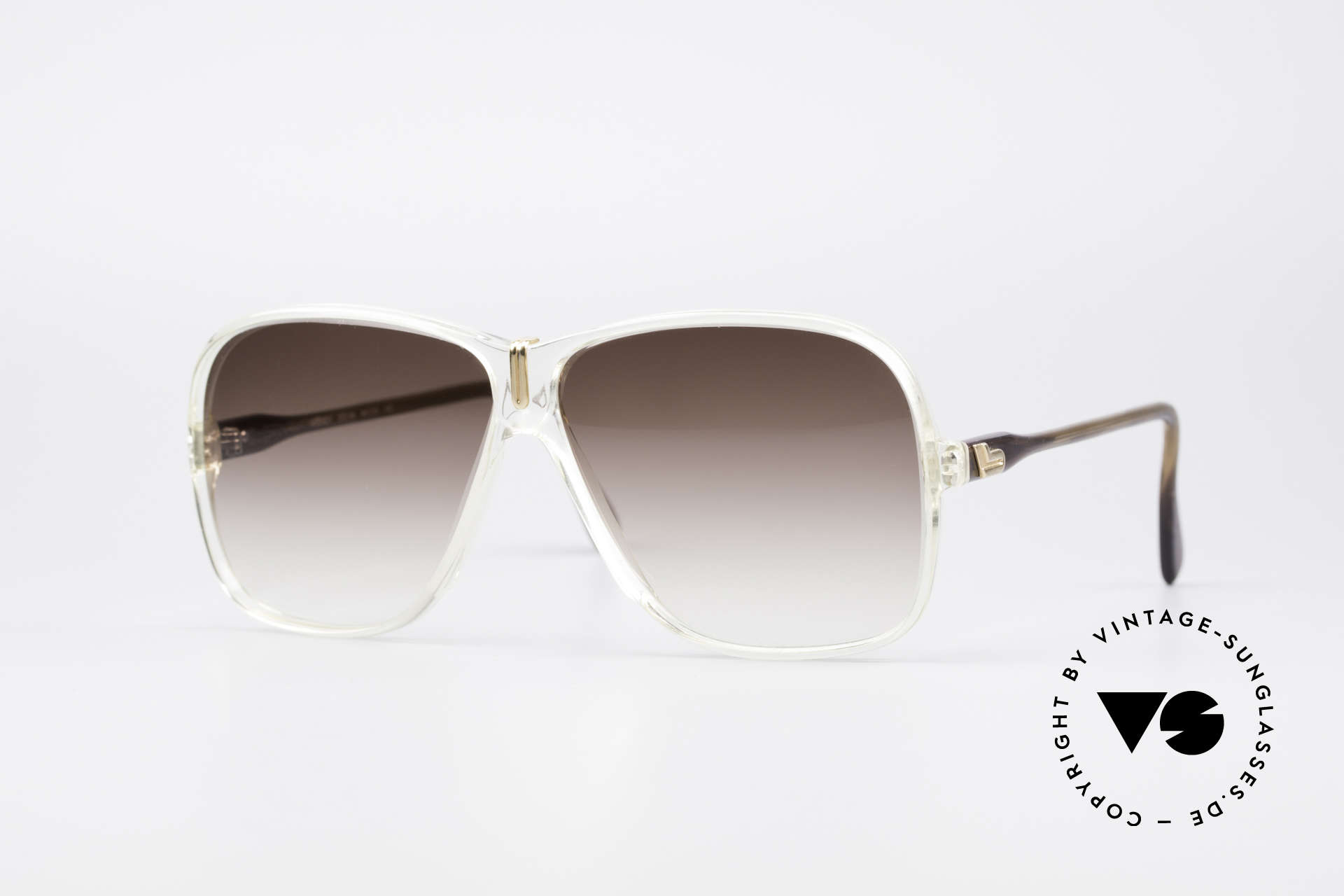 Cazal 621 West Germany Sunglasses, vintage Cazal model from the late 70s/early 80s, Made for Men
