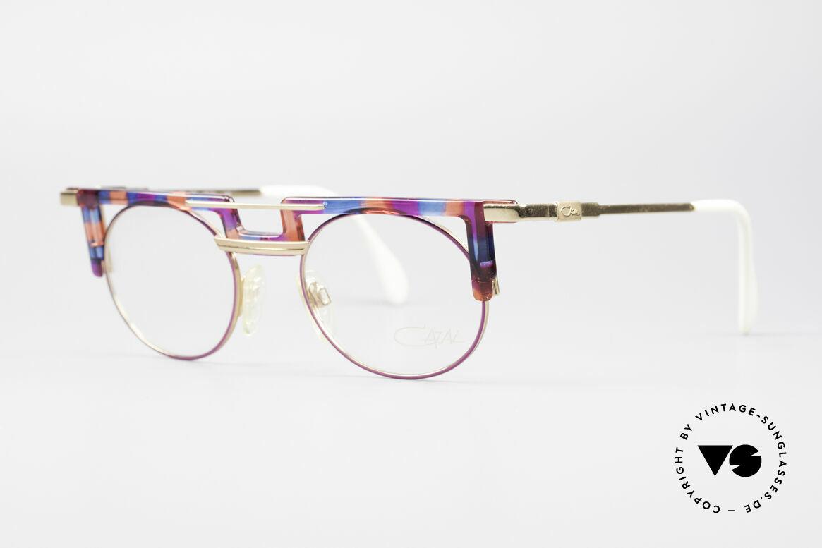 Cazal 745 Striking 90's Vintage Frame, eye-catching frame (just distinctive CAri ZALloni), Made for Women