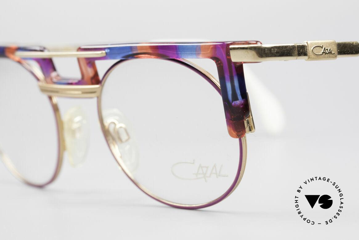 Cazal 745 Striking 90's Vintage Frame, never worn (like all our vintage CAZAL rarities), Made for Women