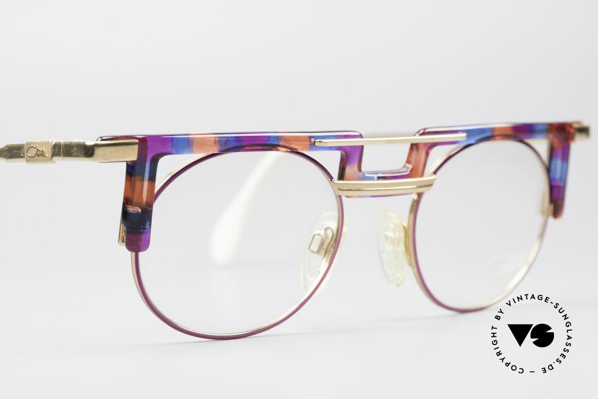 Cazal 745 Striking 90's Vintage Frame, frame is made for lenses of any kind (optical/sun), Made for Women