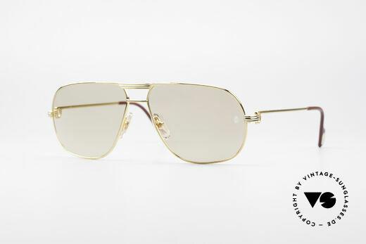 Cartier Tank - L Luxury Designer Sunglasses Details