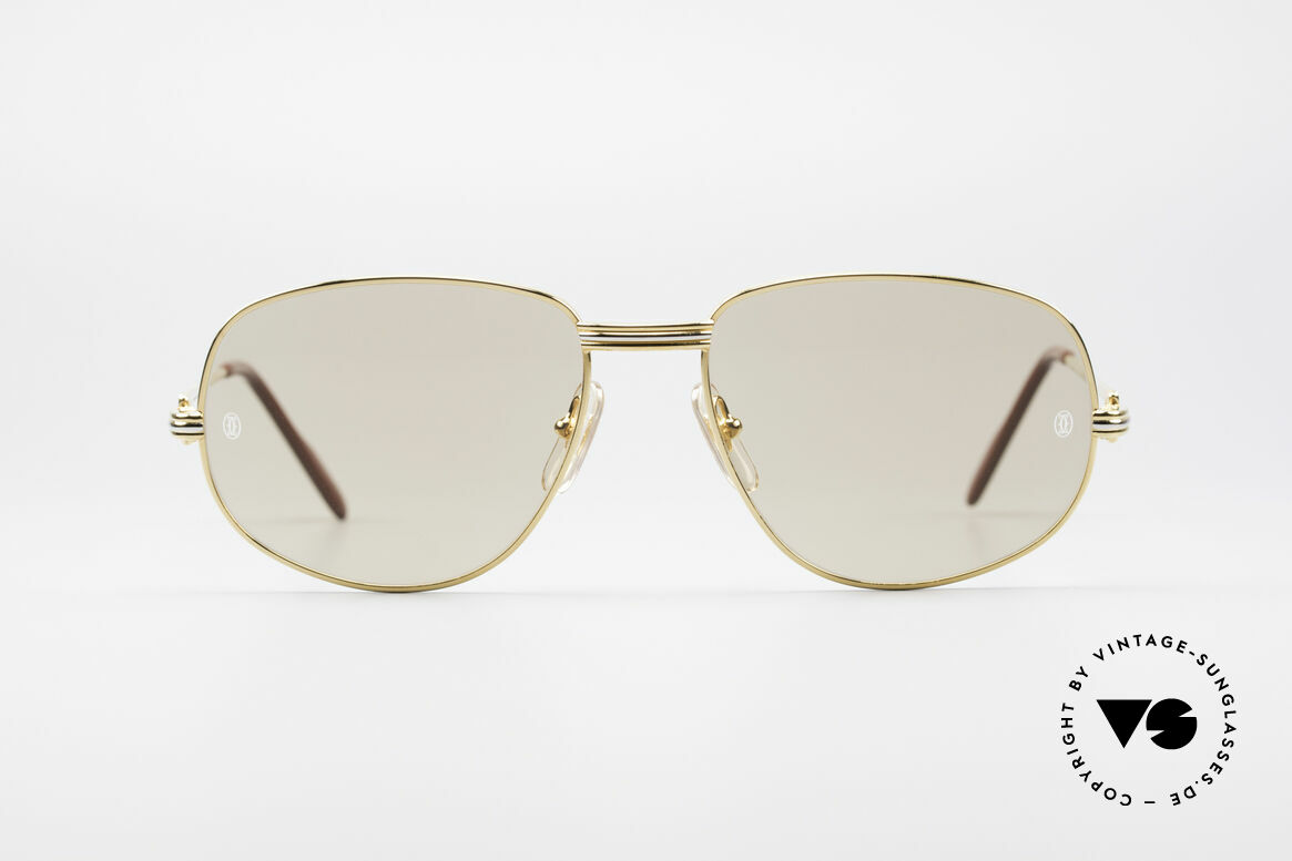"Cartier Romance LC - L Luxury Designer Shades, mod. ""Romance"" was launched in 1986 and made till 1997, Made for Men"