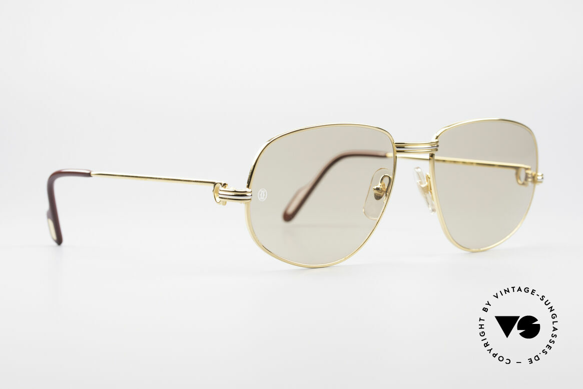 Cartier Romance LC - L Luxury Designer Shades, this pair (with L. Cartier decor) is LARGE size 58-18, 135, Made for Men