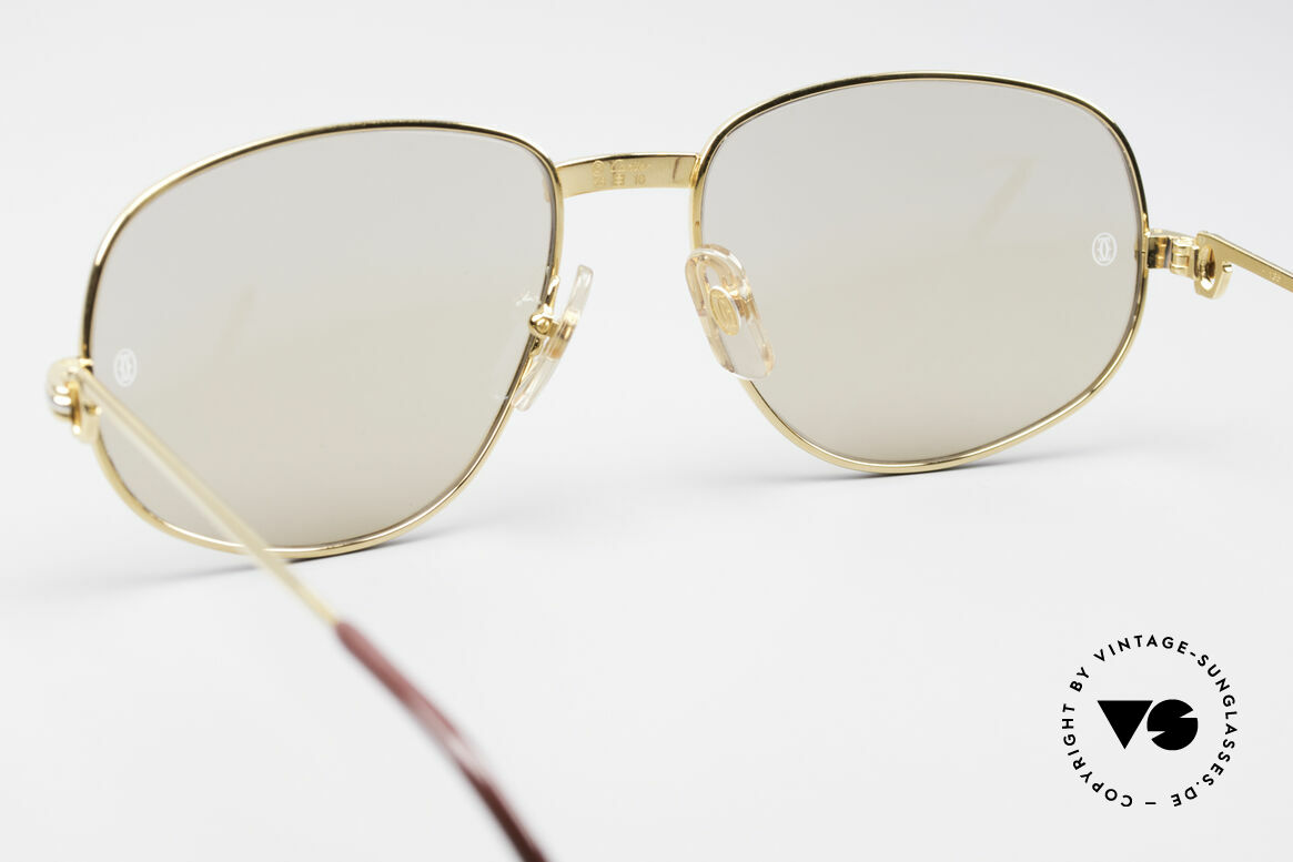 Cartier Romance LC - L Luxury Designer Shades, 22ct gold-plated frame (like all vintage Cartier originals), Made for Men