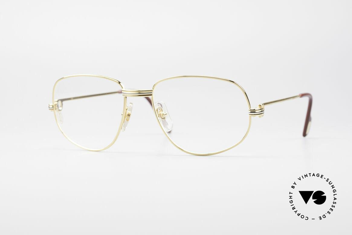 Cartier Romance LC - M Luxury Designer Glasses, vintage Cartier eyeglasses; model ROMANCE Louis Cartier, Made for Men and Women
