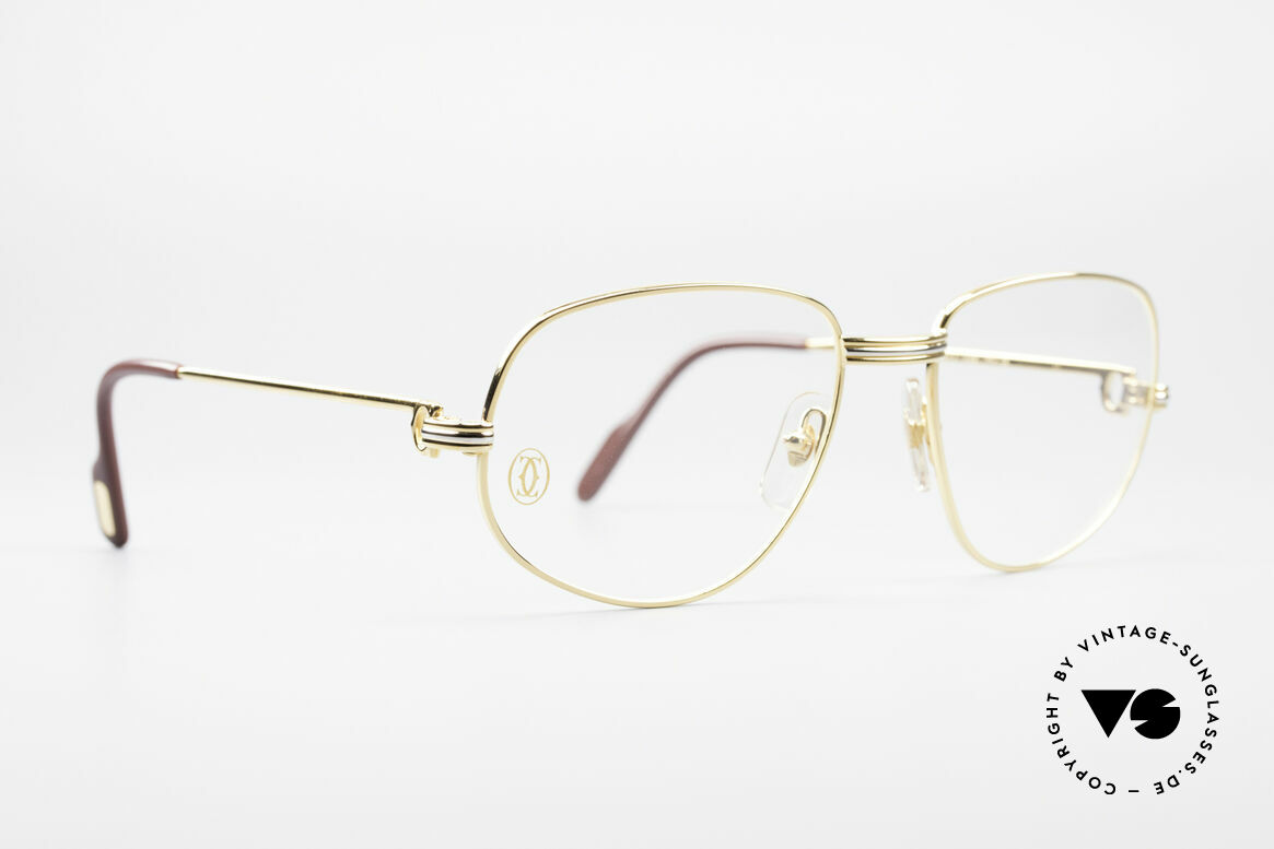Cartier Romance LC - M Luxury Designer Glasses, this pair (with L. Cartier decor): MEDIUM size 56-18, 135, Made for Men and Women