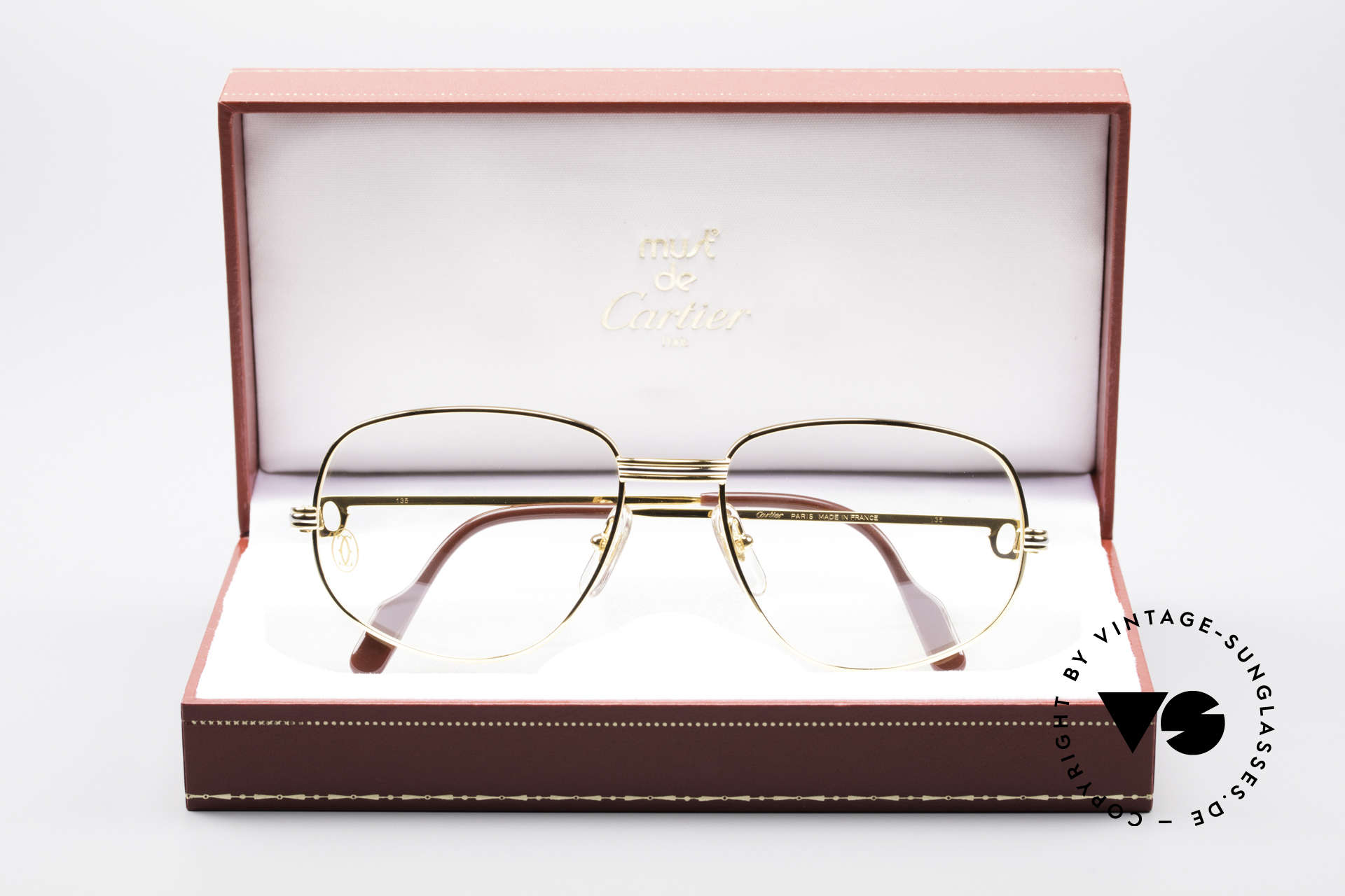 Cartier Romance LC - M Luxury Designer Glasses, unworn with original box (hard to find in this condition), Made for Men and Women