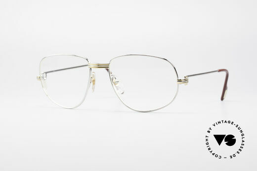 Cartier Romance LC - L Platinum Finish Frame Details