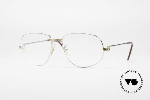 Cartier Romance LC - M Platinum Finish Glasses Details