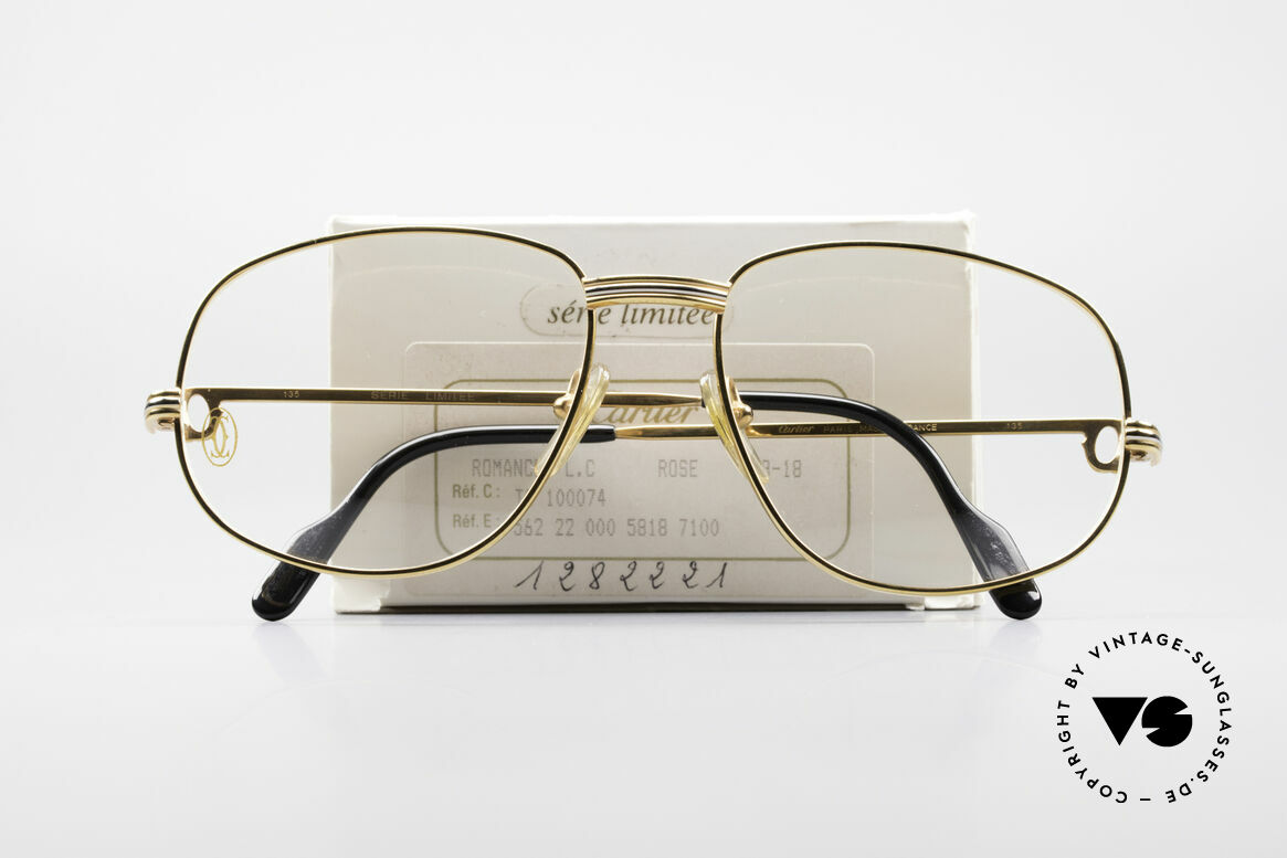 Cartier Romance Rose LC - L Limited Luxury Frame