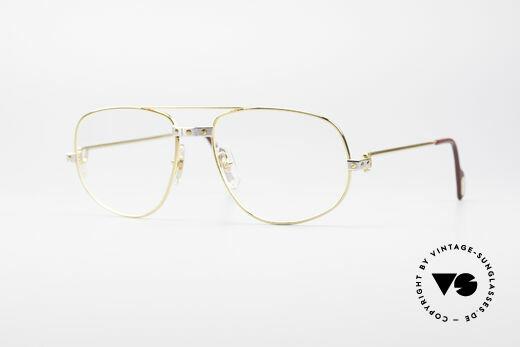 Cartier Romance Santos - L Luxury Frame Details
