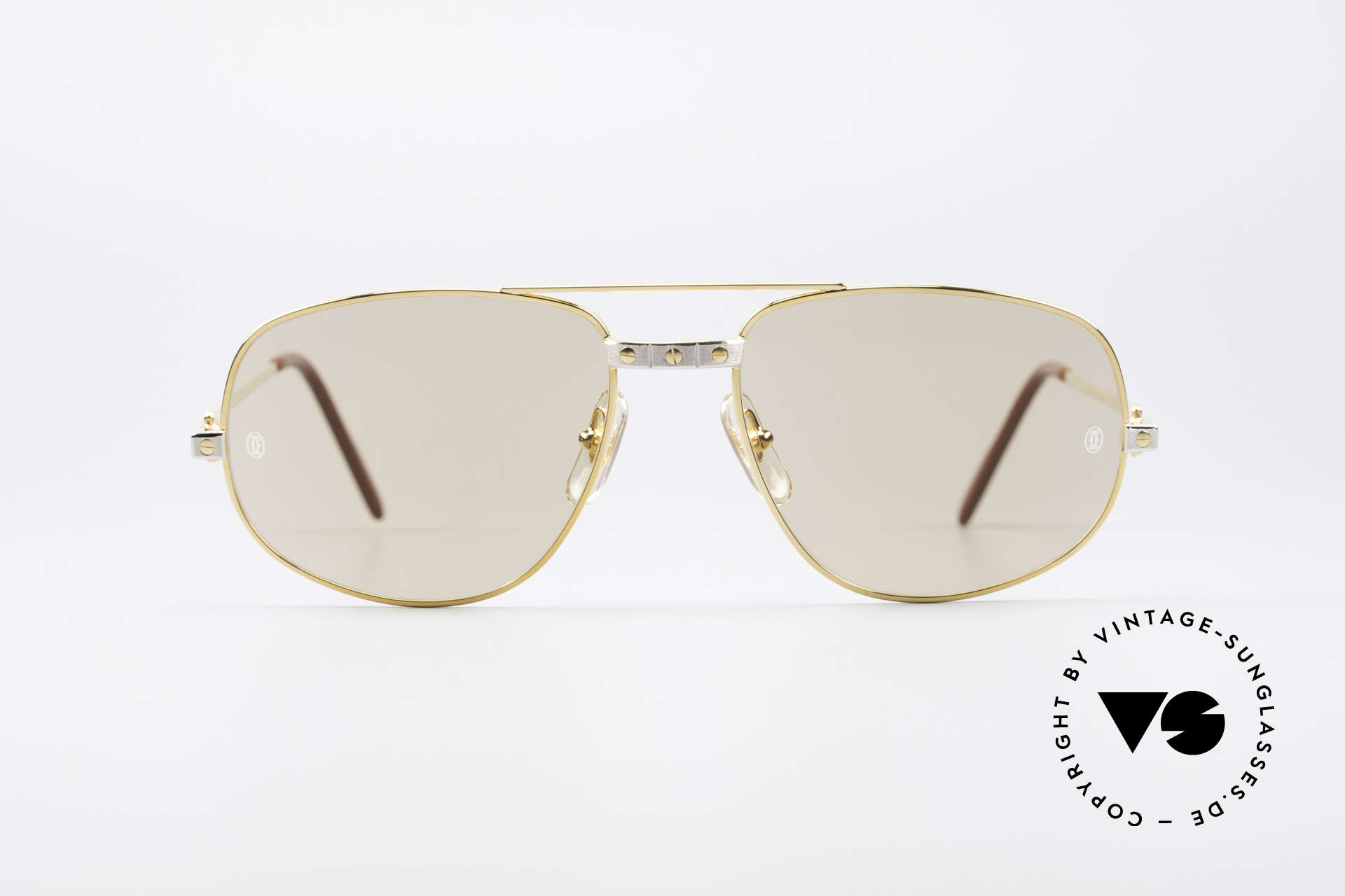 a5f22fb2b8c8 Sunglasses Cartier Romance Santos - L Luxury Shades