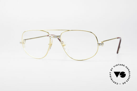 Cartier Romance Santos - M Luxury Glasses Details