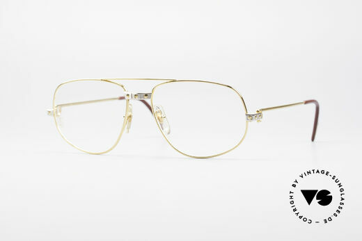 Cartier Romance Santos - M Luxury Eyeglasses Details