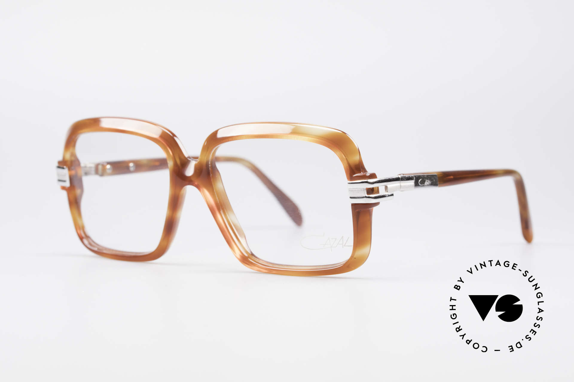 """Cazal 605 70's Frame First Series, Cazal started to mark the frames """"W.Germany"""" in the 80s, Made for Men"""