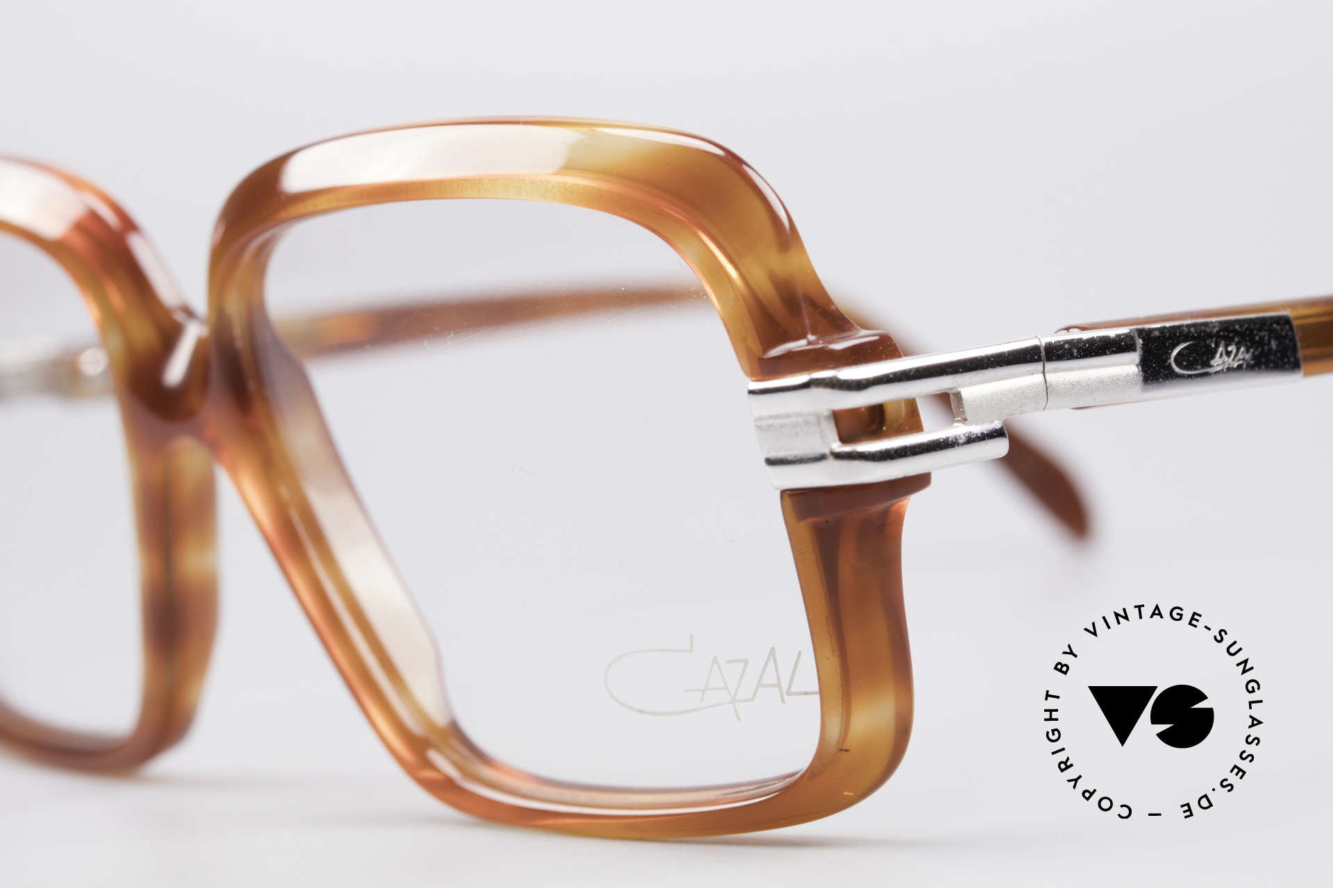 Cazal 605 70's Frame First Series, a piece of contemporary fashion history (museum piece), Made for Men