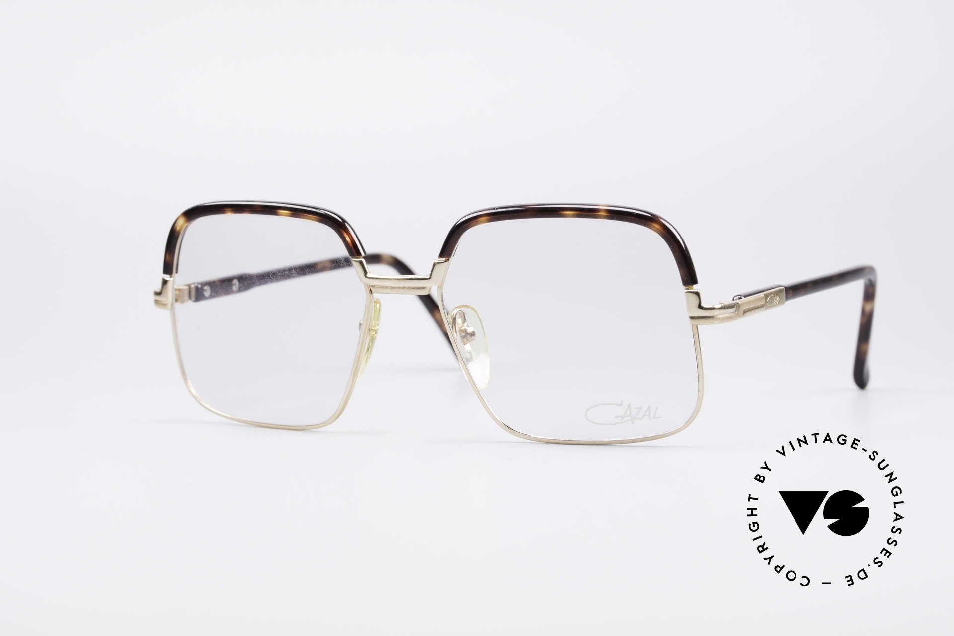 Cazal 704 70's Combi Glasses First Series, ultra rare vintage Cazal eyeglasses from the late 1970's, Made for Men