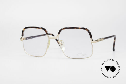 Cazal 704 70's Combi Glasses First Series Details