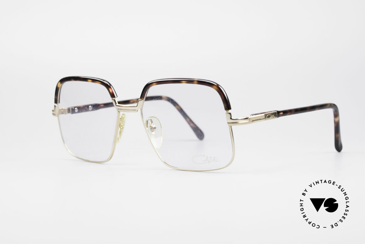 Cazal 704 70's Combi Glasses First Series, with the age-old 'Frame Germany' engraving; size 56/18, Made for Men