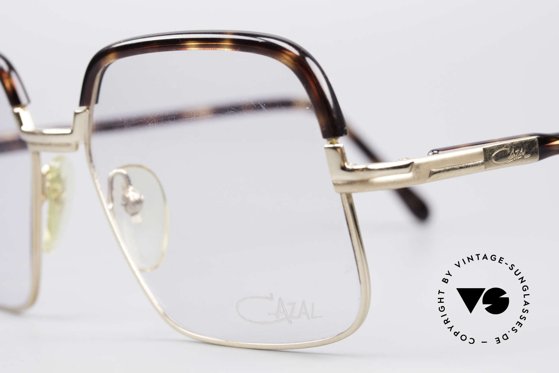 "Cazal 704 70's Combi Glasses First Series, Cazal started to mark the frames ""W.Germany"" in the 80s, Made for Men"