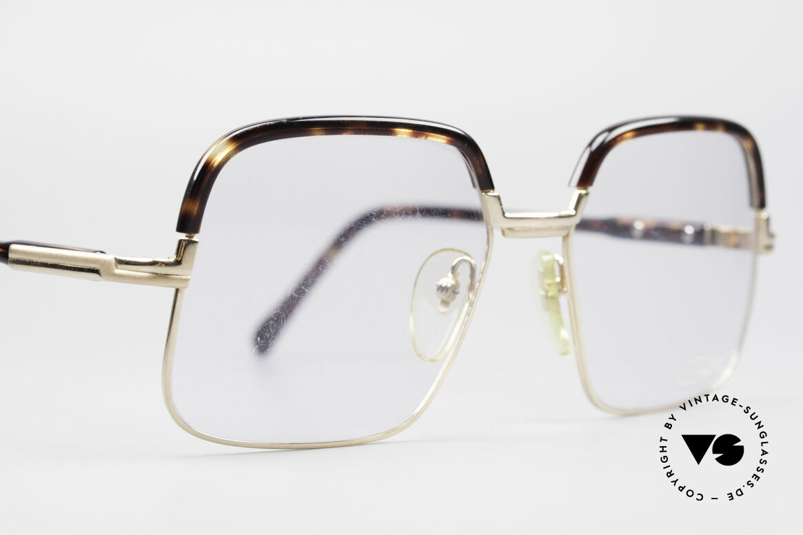 Cazal 704 70's Combi Glasses First Series, famous 'combi glasses' (metal frame with plastic temples), Made for Men