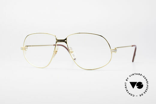 Cartier Panthere G.M. - XL Luxury Eyeglasses Details