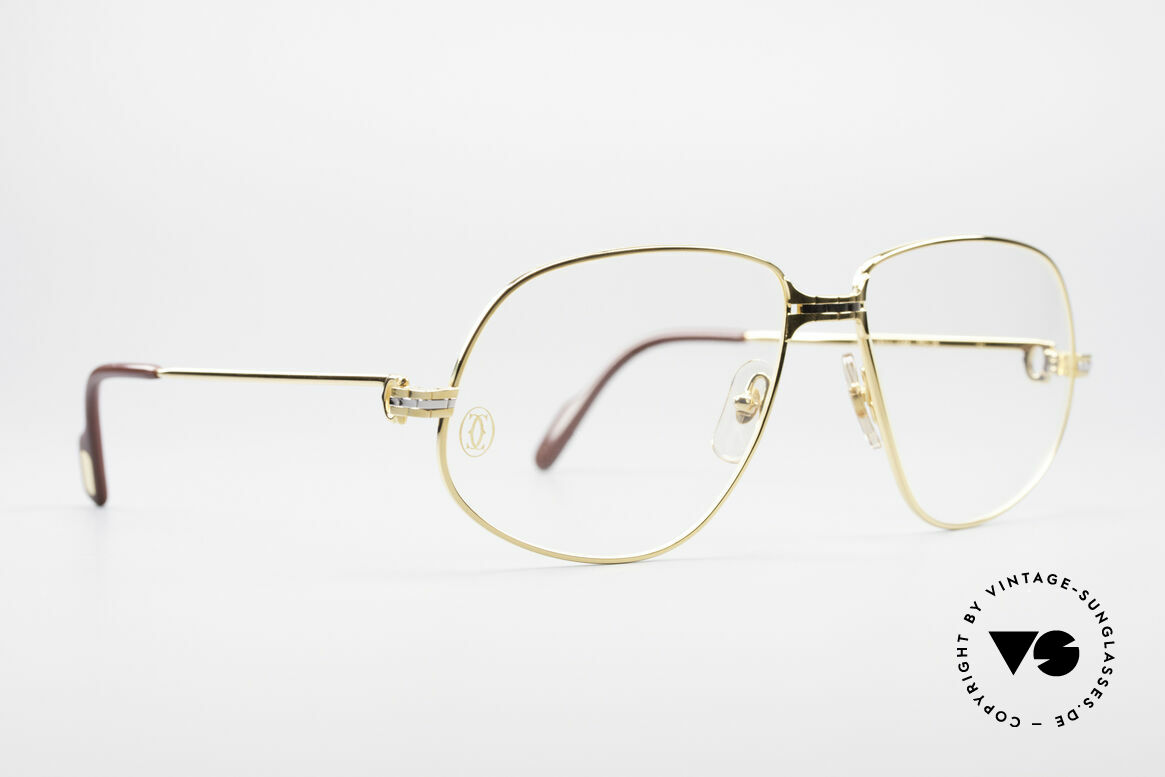 """Cartier Panthere G.M. - XL Luxury Eyeglasses, mod. """"Panthère"""" was launched in 1988 and made till 1997, Made for Men"""