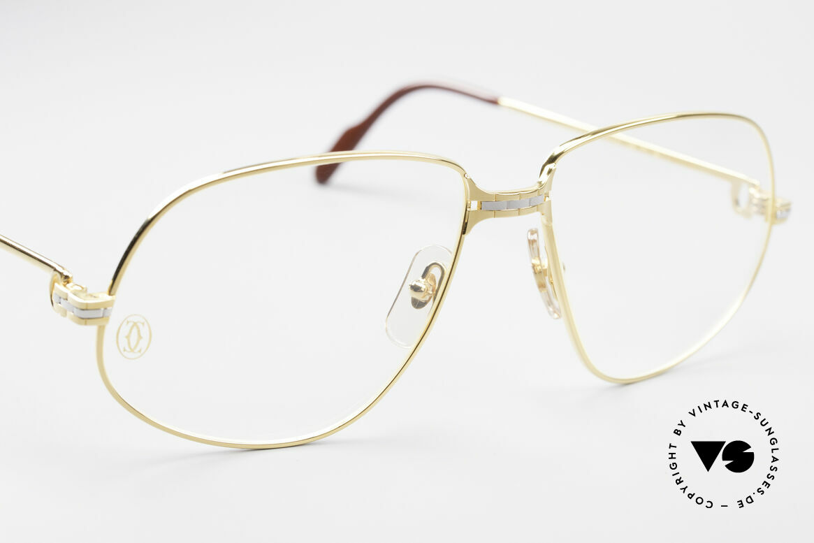 Cartier Panthere G.M. - XL Luxury Eyeglasses, 22ct gold-plated finish (like all vintage Cartier originals), Made for Men
