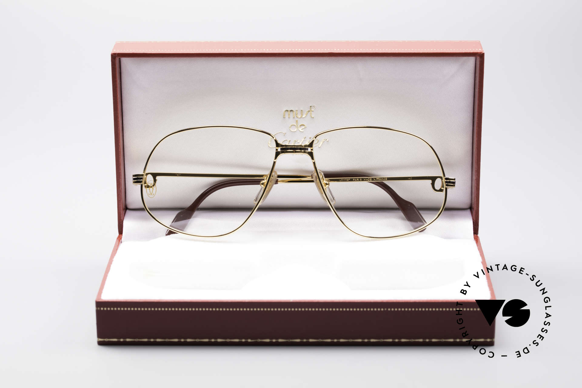 Cartier Panthere G.M. - XL Luxury Eyeglasses, unworn with orig. packing (hard to find in this condition), Made for Men