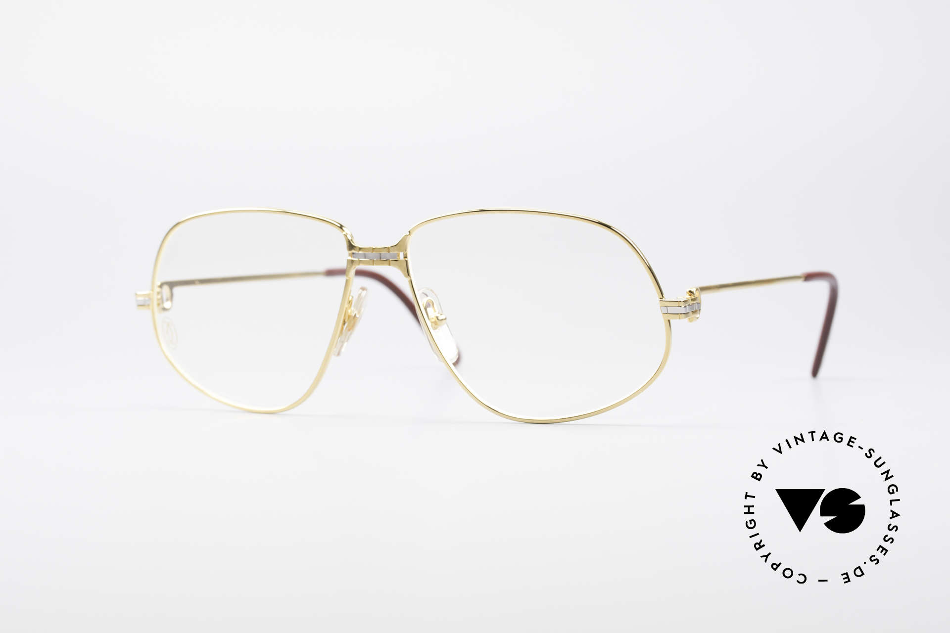 Cartier Panthere G.M. - L 1980's Luxury Eyeglass-Frame, Cartier Panthère = the world famous panther by CARTIER, Made for Men