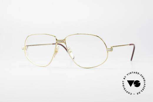 Cartier Panthere G.M. - L 1980's Luxury Eyeglass-Frame Details