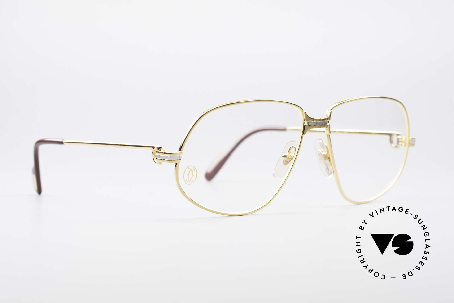 """Cartier Panthere G.M. - L 1980's Luxury Eyeglass-Frame, mod. """"Panthère"""" was launched in 1988 and made till 1997, Made for Men"""
