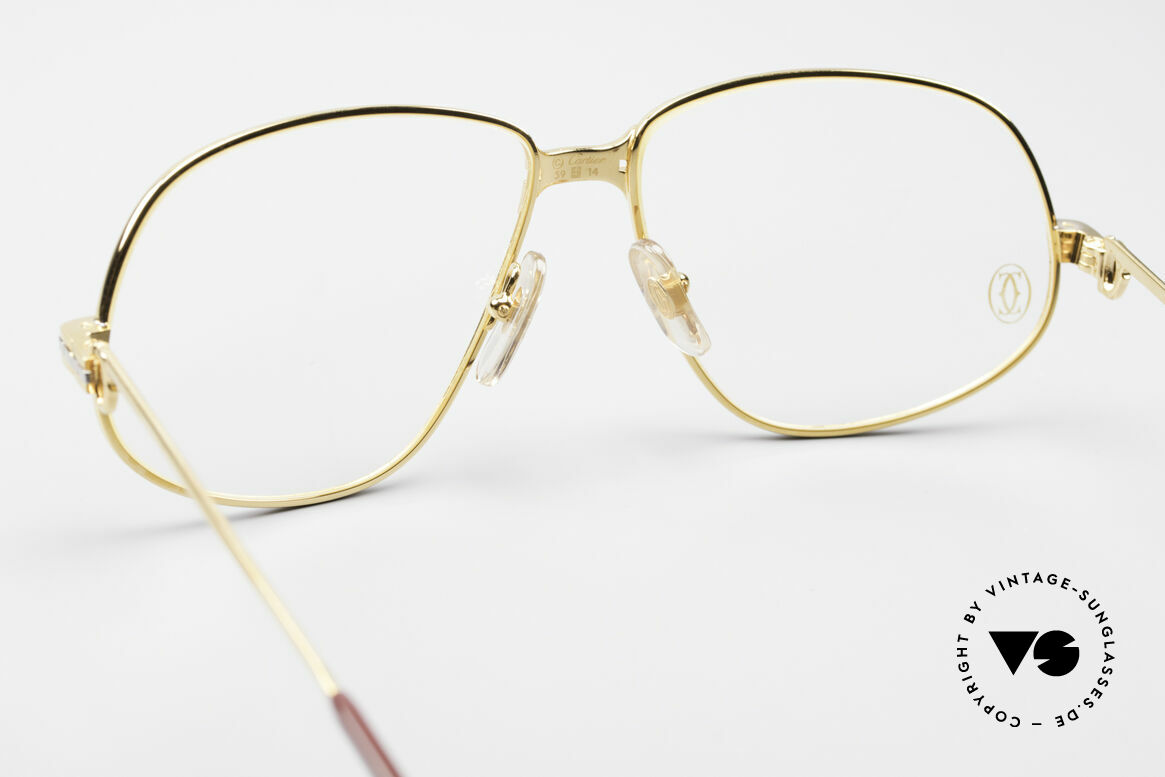 Cartier Panthere G.M. - L 1980's Luxury Eyeglass-Frame, precious luxury eyeglass-frame in LARGE size 59-14, 140, Made for Men