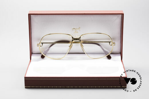 Cartier Panthere G.M. - L 1980's Luxury Eyeglass-Frame, unworn with orig. packing (hard to find in this condition), Made for Men
