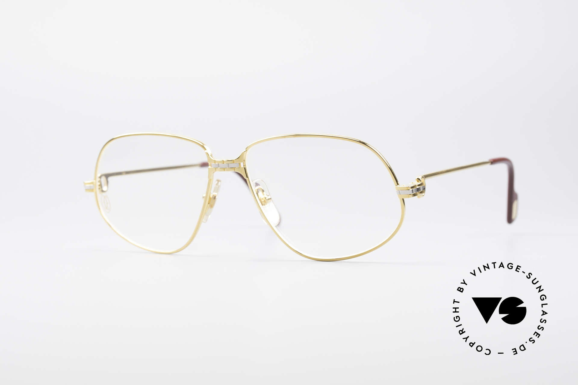 Cartier Panthere G.M. - M 80's Luxury Vintage Eyeglasses, Cartier Panthère = the world famous panther by CARTIER, Made for Men