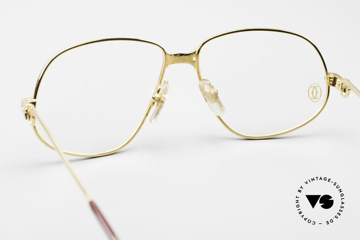Cartier Panthere G.M. - M 80's Luxury Vintage Eyeglasses, precious luxury eyeglass-frame in Medium size 56-14, 135, Made for Men