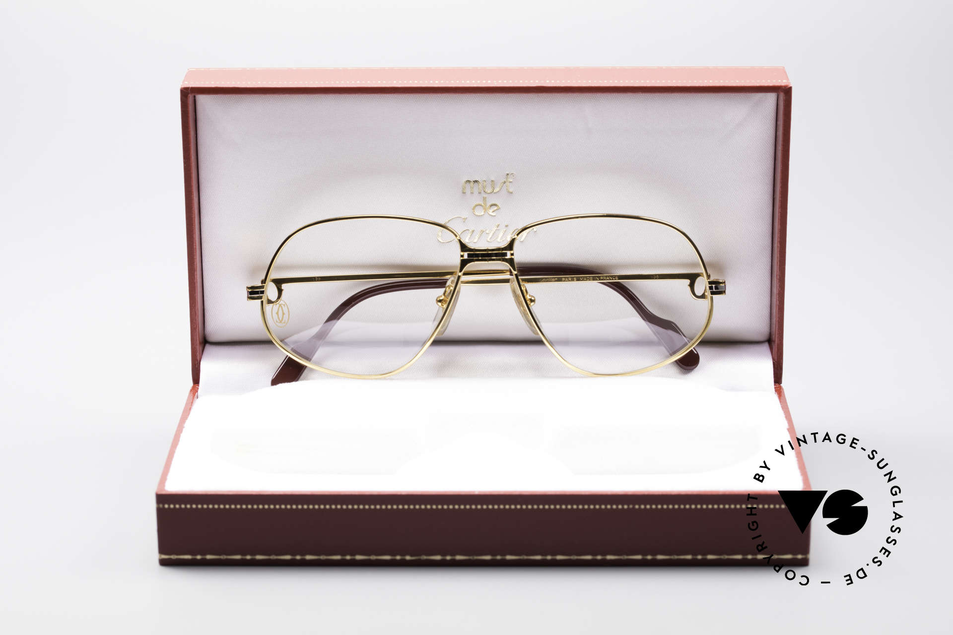 Cartier Panthere G.M. - M Luxury Eyeglasses, UNWORN 30 years old vintage ORIGINAL! (NO RETRO!), Made for Men