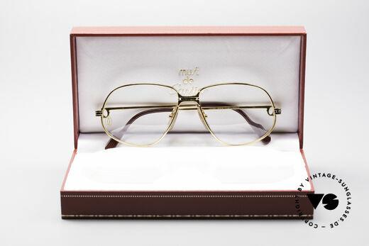 Cartier Panthere G.M. - M 80's Luxury Vintage Eyeglasses, UNWORN 30 years old vintage ORIGINAL! (NO RETRO!), Made for Men