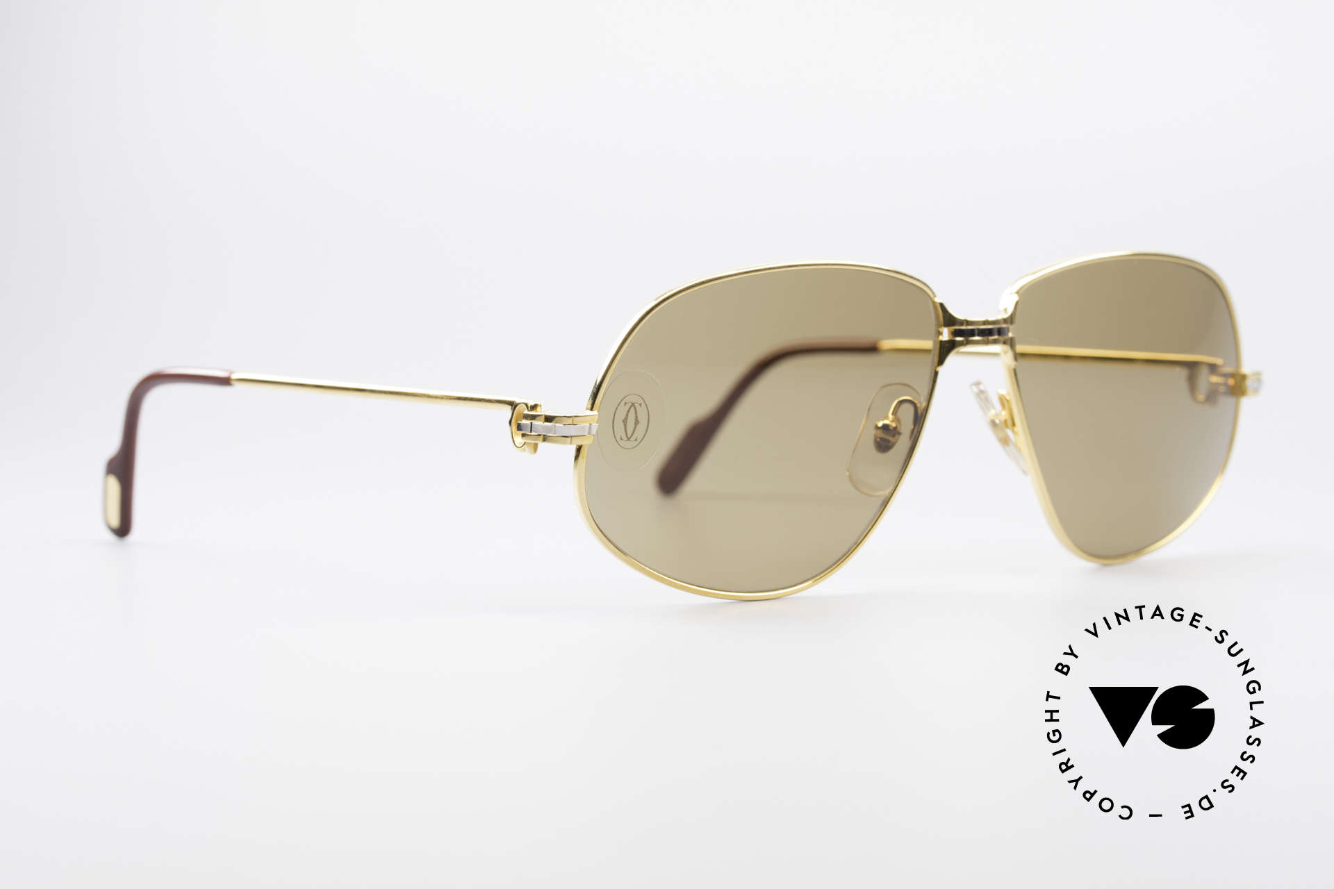 """Cartier Panthere G.M. - L Rare Luxury Sunglasses, mod. """"Panthère"""" was launched in 1988 and made till 1997, Made for Men"""