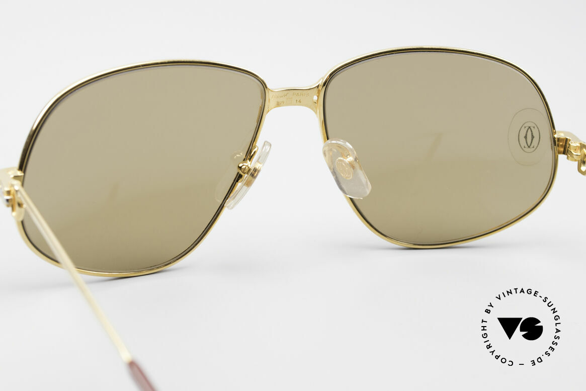 Cartier Panthere G.M. - L Rare Luxury Sunglasses, precious 80s LUXURY sunglasses in LARGE size 59-14, 140, Made for Men