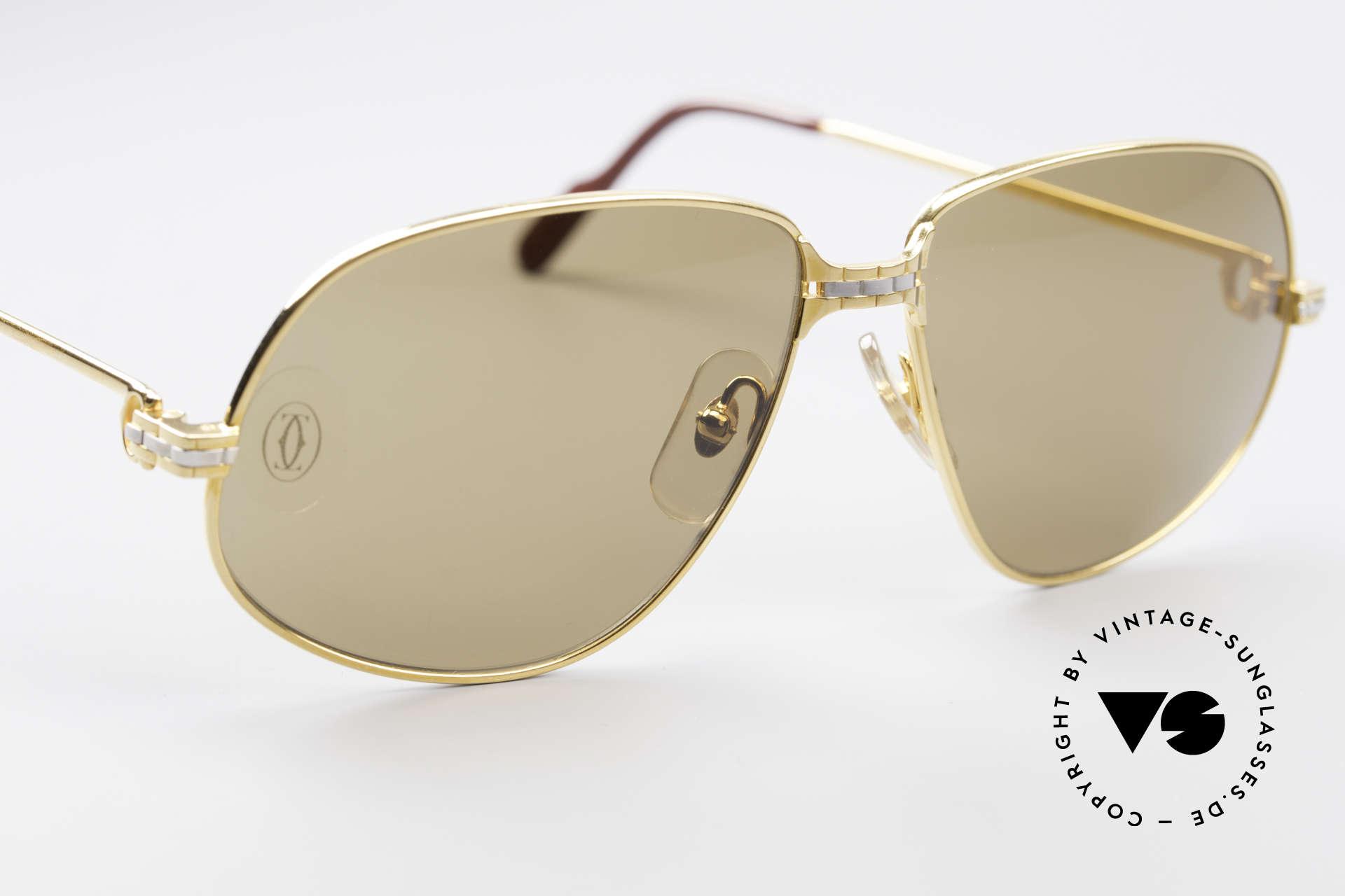 Cartier Panthere G.M. - L Rare Luxury Sunglasses, original Cartier sun lenses with the HIDDEN Cartier logo, Made for Men
