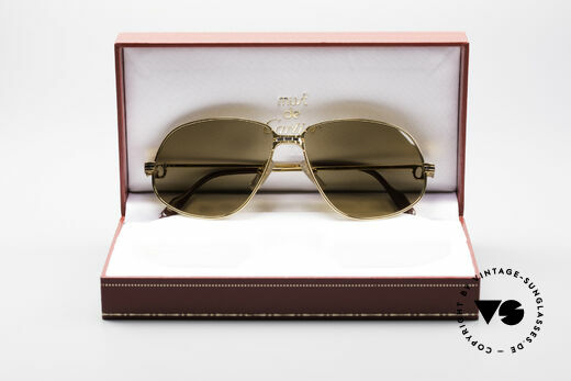 Cartier Panthere G.M. - L Rare Luxury Sunglasses, you must BREATH on the lenses to make the logo VISIBLE, Made for Men