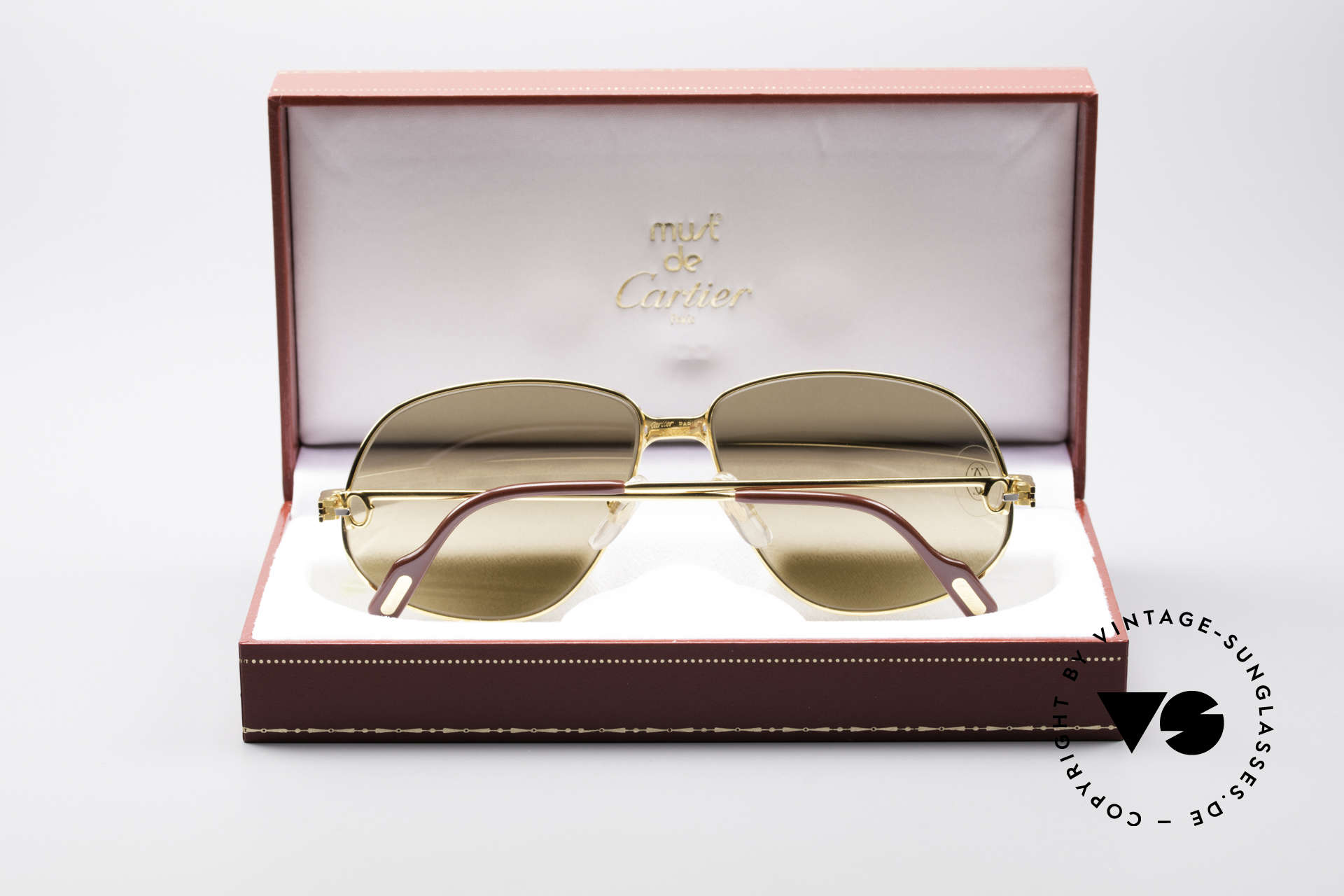 Cartier Panthere G.M. - L Rare Luxury Sunglasses, unworn with orig. packing (hard to find in this condition), Made for Men