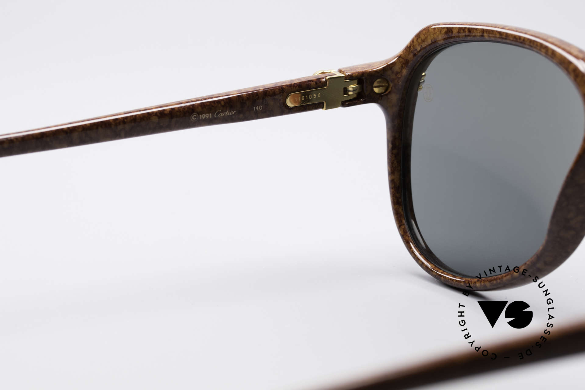 Cartier Vitesse - L Luxury Aviator Shades, with serial number, Cartier box, leather case & packing, Made for Men